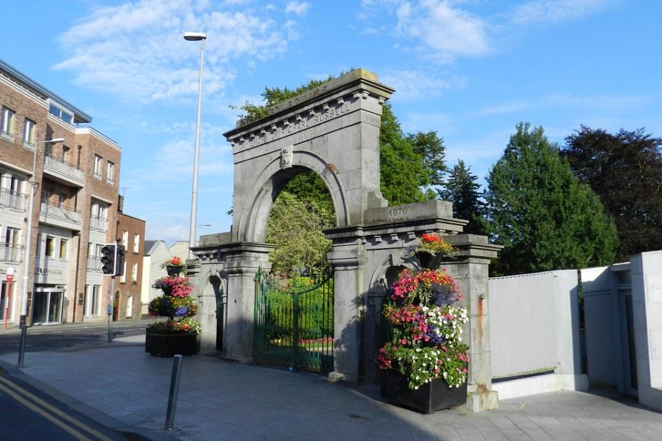 puerta Monumento a Richard Russel Limerick Republica de Irlanda