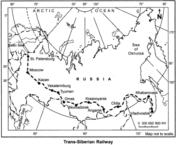 RBSE Solutions for Class 12 Geography Chapter 10 World Transport and Network 7