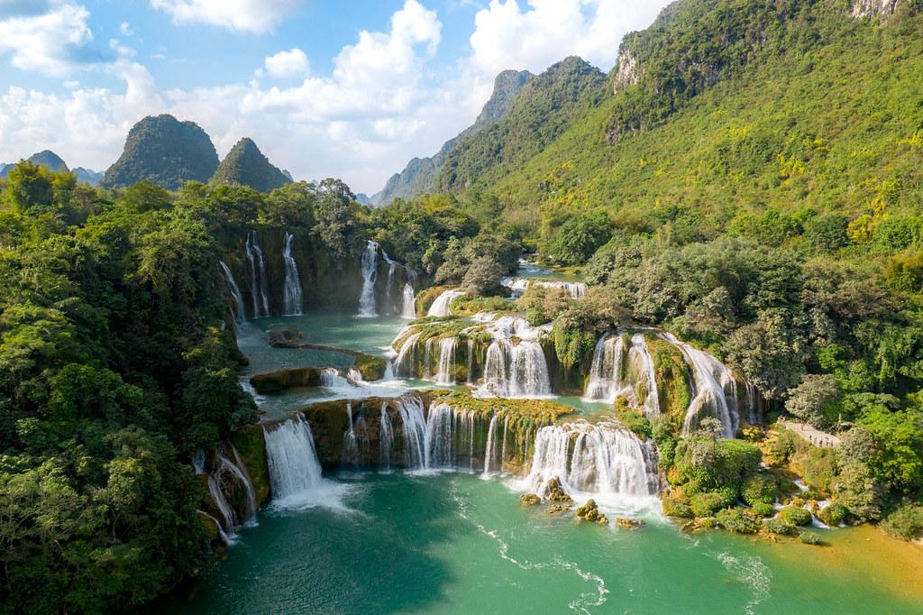 Les chutes de Ban Gioc - Ban Gioc Falls - 德天大瀑布