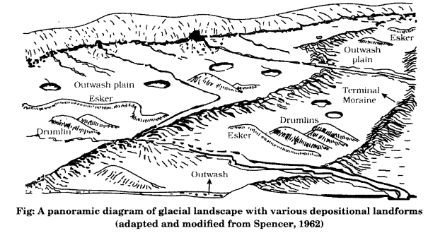 Class 11 Geography NCERT Solutions Chapter 7 Landforms and