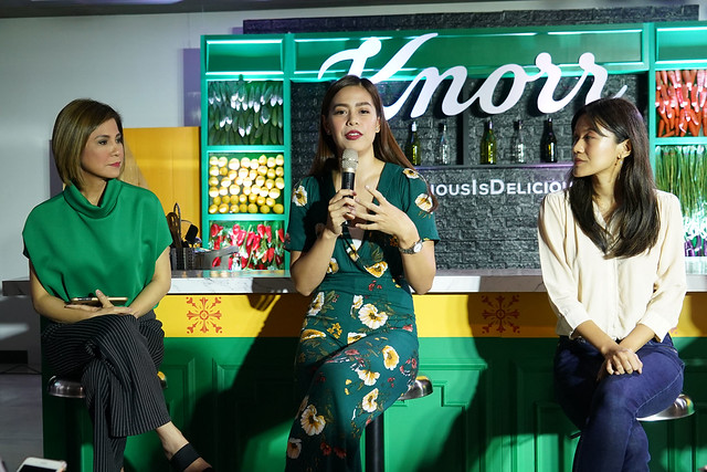 Speakers, Jing Castaneda, Bettina Carlos and Lynn Pinugu (Co-founder of Mano Amiga Foundation)