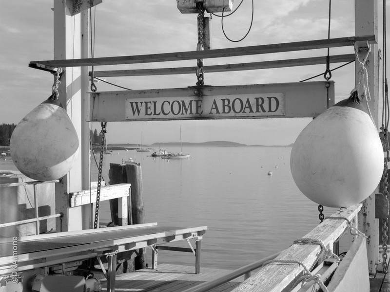Welcome Aboard, Port Clyde