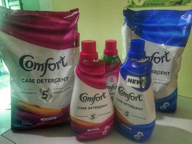 Comfort detergent