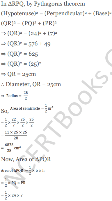 KC Sinha Maths Solutions Class 10 Chapter 13.Areas Related to circles - Ex 13 - 34
