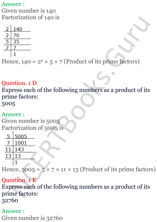 KC Sinha Maths Solutions Class 10 Chapter 1 Real Numbers Ex 1.2 - 3