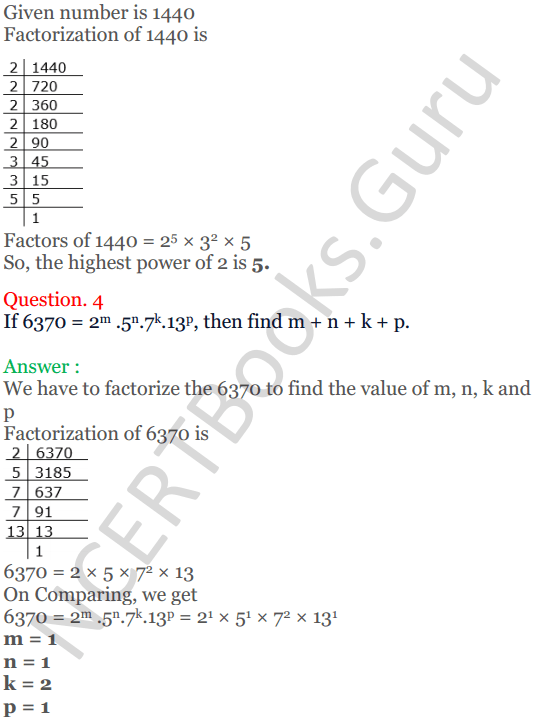 KC Sinha Maths Solutions Class 10 Chapter 1 Real Numbers Ex 1.2 - 6