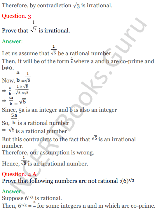 KC Sinha Maths Solutions Class 10 Chapter 1 Real Numbers Ex 1.3 - 3