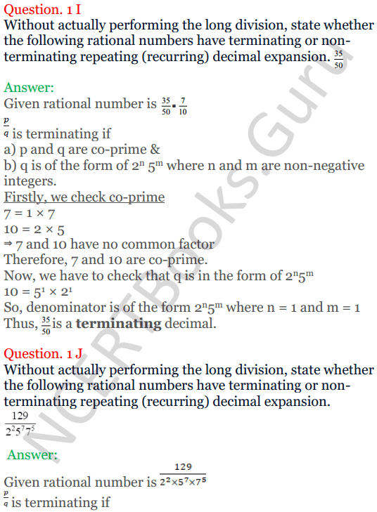 KC Sinha Maths Solutions Class 10 Chapter 1 Real Numbers Ex 1.4 - 7