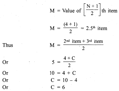 RBSE Solutions for Class 11 Economics Chapter 9 Median 2