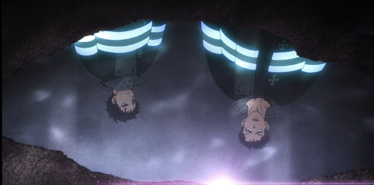fire force enen no shouboutai episode 3 the fire rookie games soldier shinra kusukabe akitaru obi
