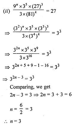 ICSE Class 8 Maths Book Solutions Free Download Pdf Chapter 2 Exponents and Powers Ex 2.1 Q14.2