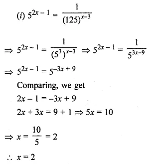 ICSE Understanding Mathematics Class 8 Solutions Chapter 2 Exponents and Powers Ex 2.1 Q14.1