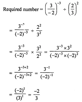 ICSE Class 8 Maths Book Solutions Free Download Pdf Chapter 2 Exponents and Powers Ex 2.1 Q10