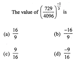 ICSE Class 8 Maths Book Solutions Free Download Pdf Chapter 2 Exponents and Powers Objective Type Questions Q6
