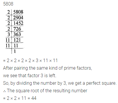ML Aggarwal Maths for Class 8 Solutions Book Pdf Chapter 3 Squares and Square Roots Ex 3.1 Q4