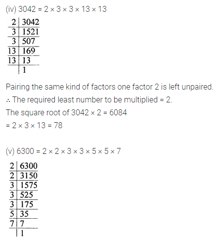 ML Aggarwal Class 8 Solutions for ICSE Maths Chapter 3 Squares and Square Roots Ex 3.3 Q4.2