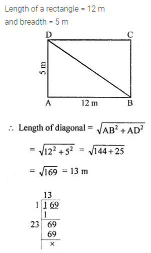 ICSE Mathematics Class 8 Solutions Chapter 3 Squares and Square Roots Check Your Progress Q8