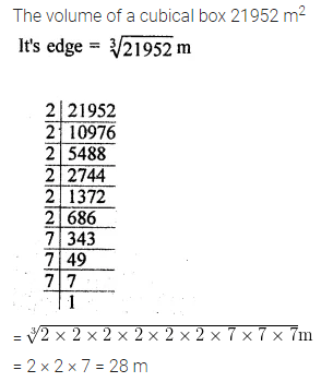 Maths Questions for Class 8 ICSE With Answers Chapter 4 Cubes and Cube Roots Ex 4.2 Q9