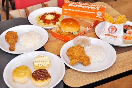 Popeyes Alabang Town Center Menu