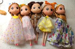 Confused pre-teen doll