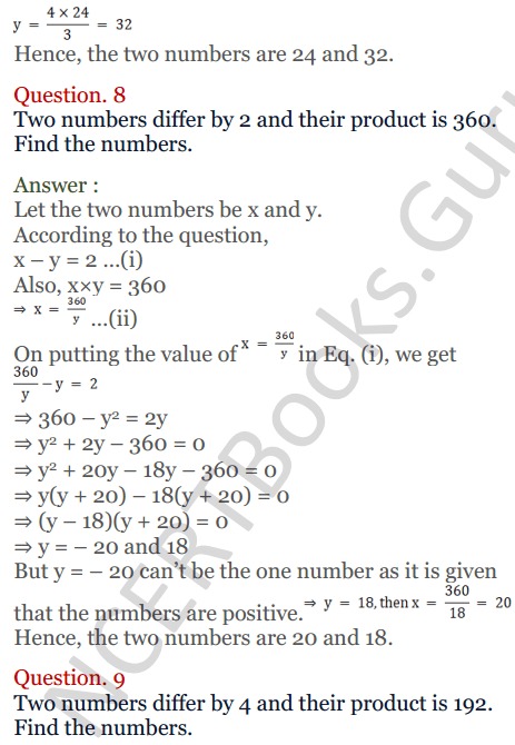 KC Sinha Maths Solutions Class 10 Chapter 3 Pair of Linear Equations in Two Variables Ex 3.5 - 7