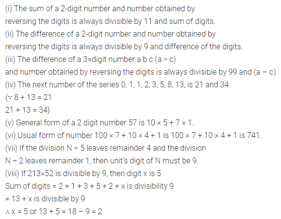 ML Aggarwal Maths for Class 8 Solutions Book Pdf Chapter 5 Playing with Numbers Objective Type Questions Q1