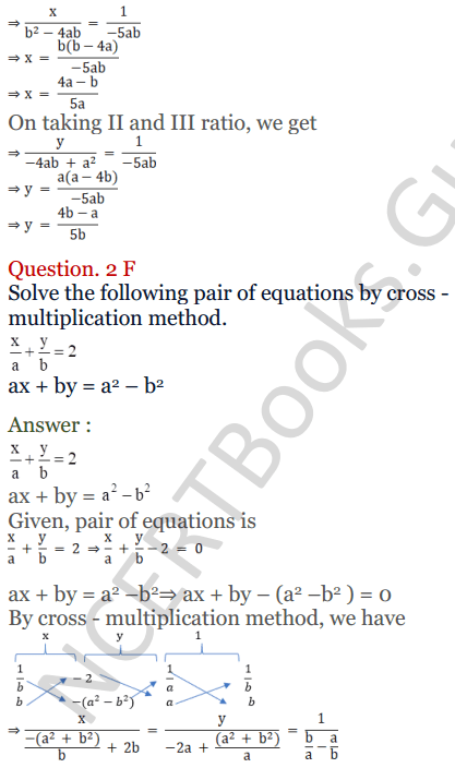 KC Sinha Maths Solutions Class 10 Chapter 3 Pair of Linear Equations in Two Variables Ex 3.4 - 11