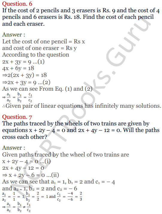 KC Sinha Maths Solutions Class 10 Chapter 3 Pair of Linear Equations in Two Variables Ex 3.4 - 21
