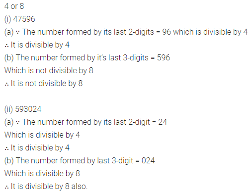 ICSE Class 8 Maths Book Solutions Free Download Pdf Chapter 5 Playing with Numbers Check Your Progress Q8