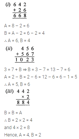 ICSE Mathematics Class 8 Solutions Chapter 5 Playing with Numbers Check Your Progress Q4.1