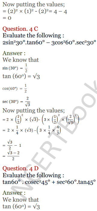 KC Sinha Maths Solutions Class 10 Chapter 4 Trigonometric Ratios and Identities Ex 4.2 - 14
