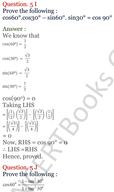KC Sinha Maths Solutions Class 10 Chapter 4 Trigonometric Ratios and Identities Ex 4.2 - 26