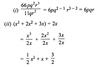 ML Aggarwal Class 8 Solutions for ICSE Maths Chapter 10 Algebraic Expressions and Identities Check Your Progress Q8
