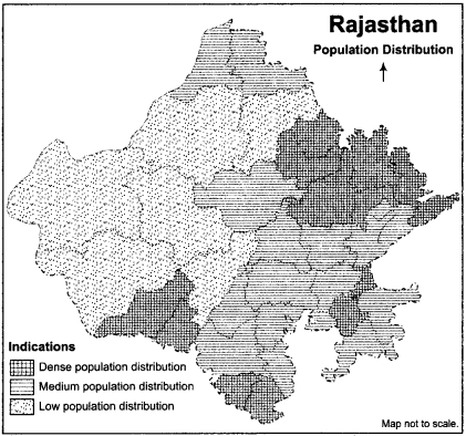 RBSE Solutions for Class 12 Geography Chapter 25 Rajasthan Population and Tribes 1