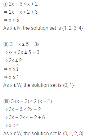 ML Aggarwal Class 8 Solutions for ICSE Maths Chapter 12 Linear Equations and Inequalities in one Variable Ex 12.3 Q8
