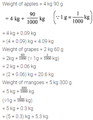 Icse Class 6 Maths Solutions ML Aggarwal Chapter 7 Decimals Ex 7.5
