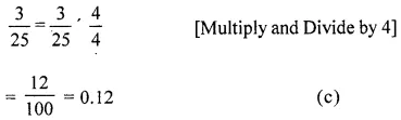 ML Aggarwal Maths for Class 6 Pdf Download Chapter 7 Decimals Objective Type Questions