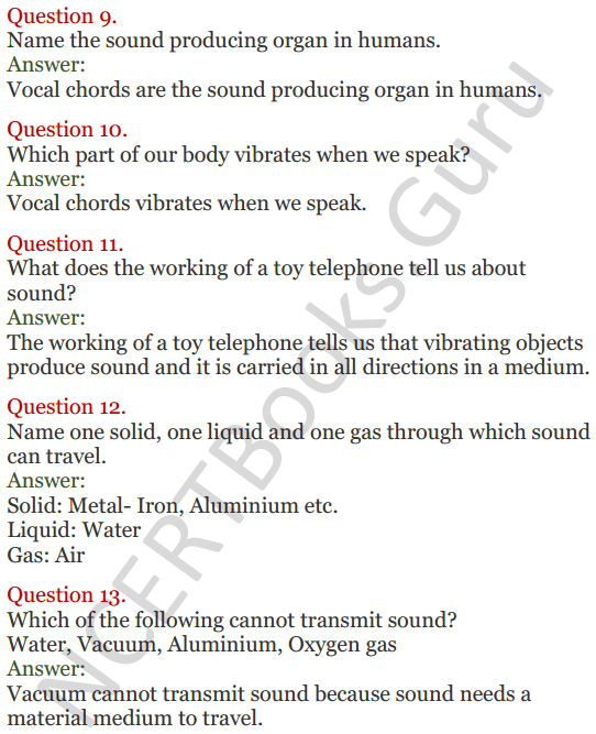 Lakhmir Singh Science Class 8 Solutions Chapter 13 Sound - 3