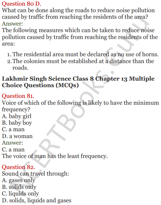 Lakhmir Singh Science Class 8 Solutions Chapter 13 Sound - 30