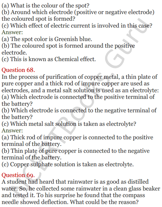 Lakhmir Singh Science Class 8 Solutions Chapter 14 Chemical Effects of Electric Current - 27
