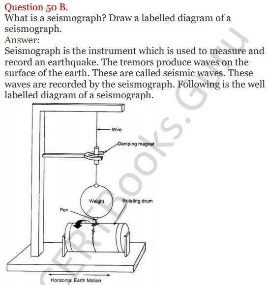 Lakhmir Singh Science Class 8 Solutions Chapter 15 Some Natural Phenomena - 25