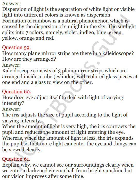Lakhmir Singh Science Class 8 Solutions Chapter 16 Light - 21