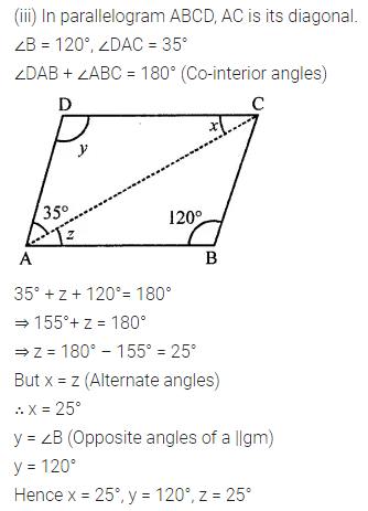 ML Aggarwal Class 8 Solutions for ICSE Maths Chapter 13 Understanding Quadrilaterals Ex 13.2 Q2.3