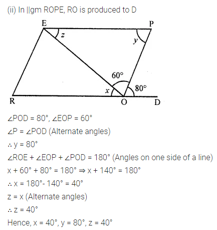 ML Aggarwal Class 8 Solutions for ICSE Maths Chapter 13 Understanding Quadrilaterals Ex 13.2 Q6.2