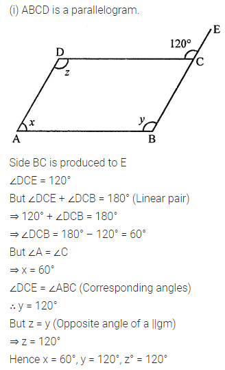 ML Aggarwal Class 8 Solutions for ICSE Maths Chapter 13 Understanding Quadrilaterals Ex 13.2 Q2.1