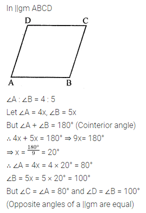 ML Aggarwal Class 8 Solutions for ICSE Maths Chapter 13 Understanding Quadrilaterals Ex 13.2 Q4