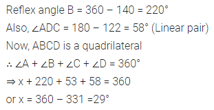 ML Aggarwal Class 8 Solutions for ICSE Maths Chapter 13 Understanding Quadrilaterals Check Your Progress Q1.1