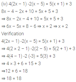 ICSE Class 6 Maths Solutions ML Aggarwal Chapter 9 Algebra Ex 9.5