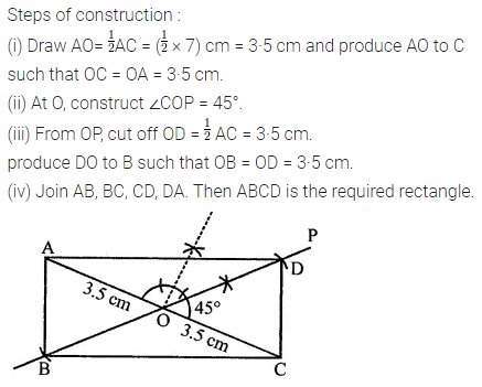 ML Aggarwal Class 8 Solutions for ICSE Maths Chapter 14 Constructions of Quadrilaterals Objective Type Questions Q3