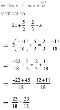 ML Aggarwal Class 6 Maths Solution Chapter 9 Algebra Ex 9.5